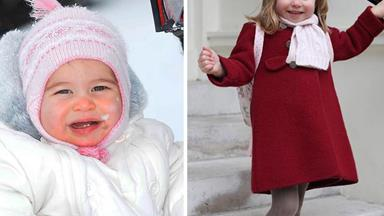 Happy 4th Birthday Princess Charlotte! A look back at our favourite photos of the young royal