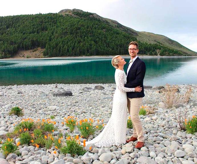 The pair married in 2016 at Lake Tekapo.