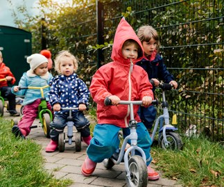 New WHO guidelines recommend kids under five need to be active for at least three hours a day
