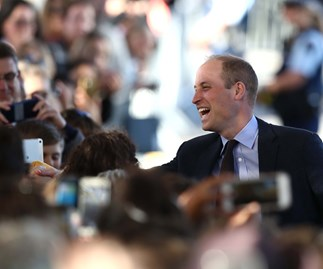 prince william with crowd in christchurch