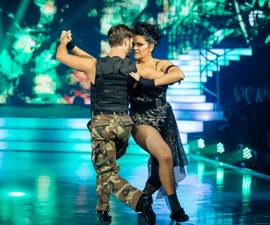 Wow! It's anyone's competition! says Carol-Ann Hanna on Dancing With The Stars
