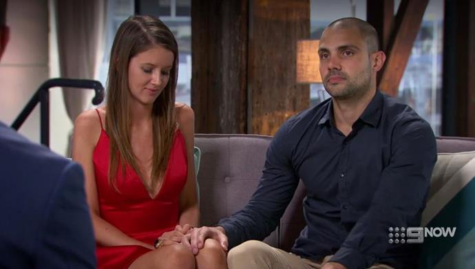 Erin and Bryce announce their decision to stay together.