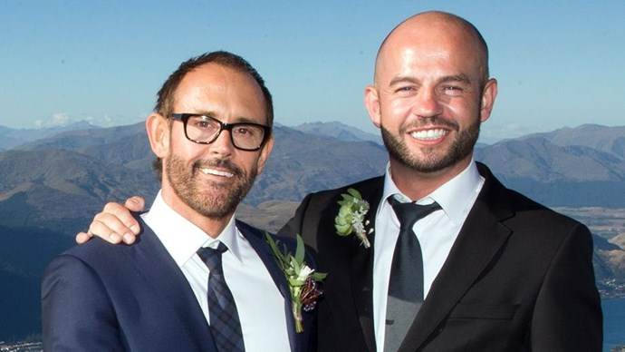 Craig and Andy wed and honeymooned in Queenstown.