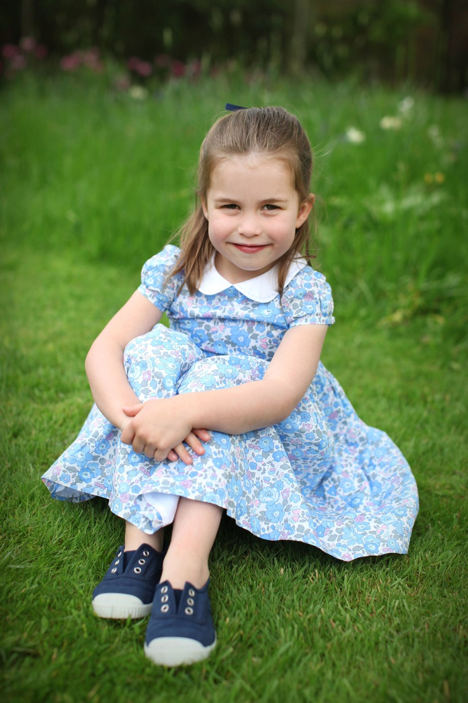 One of three of the beautiful photographs taken by Kate and shared to mark Princess Charlotte's 4th birthday in May. *(Image: Duchess of Cambridge via AP)*