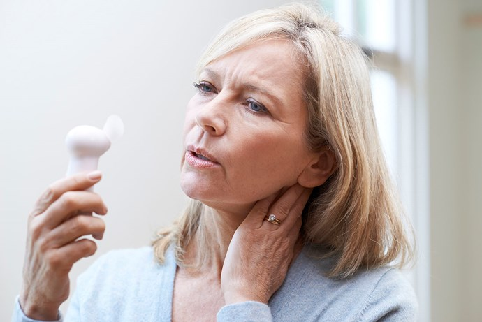 Menopause affects women differently, however common symptoms include hot flushes, mood changes and sleeplessness. *(Image: Getty)*