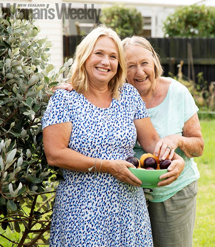 A love of good food has been passed down through generations of women in the Wickes family.