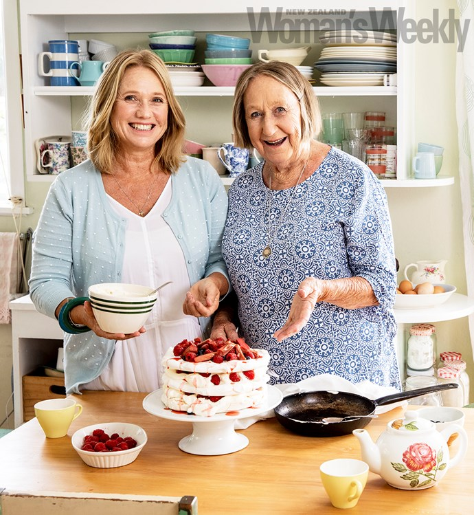 Nici and Carol love collaborating on the *Weekly's Mum's Kitchen* page