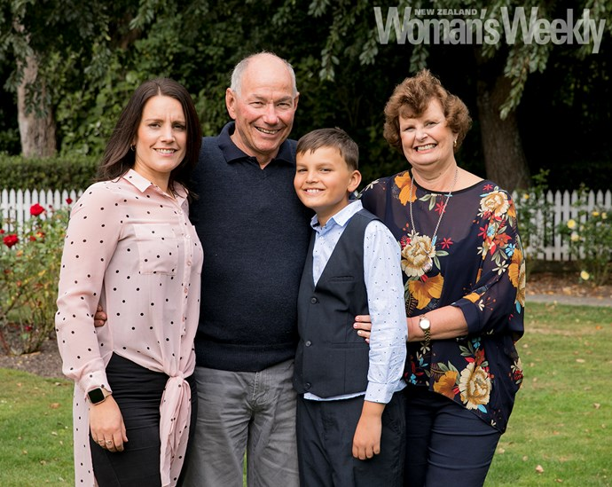 The doting grandparents say it's hard seeing your kids struggle through illness.