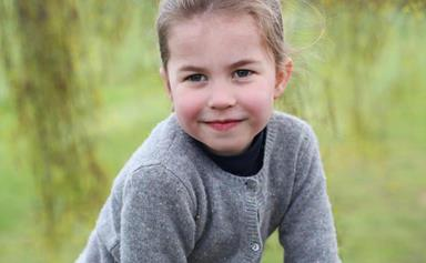 Duchess Catherine has shared three gorgeous portraits of Princess Charlotte on her fourth birthday