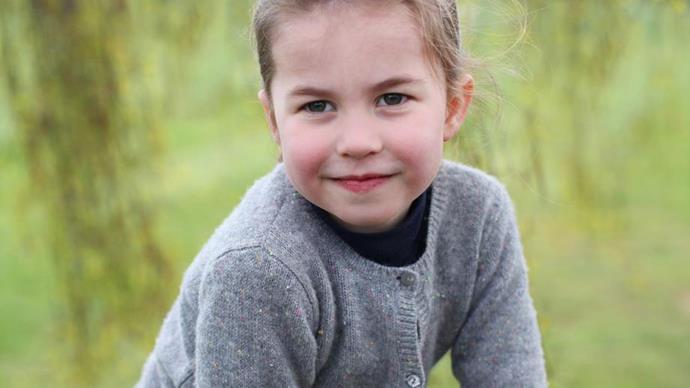 princess charlotte fourth birthday