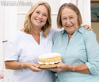 Nici Wickes and mum Carole