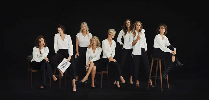 Witchery and Australia's Ovarian Cancer Research Foundation have teamed up for their eleventh year for White Shirt Day, to raise awareness and funds for early detection research on ovarian cancer. *(Image: Supplied)*