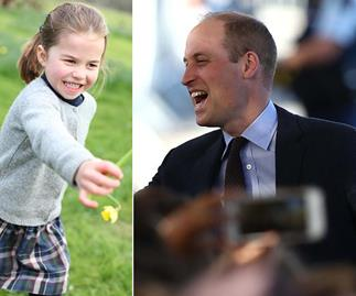 princess charlotte and prince william