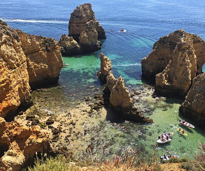 Portugal coastline secluded swimming best beach Portugal
