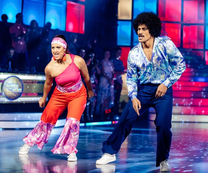Willie and Amelia confused the judges with their hip hop dance - even though it was a hip hop dance!