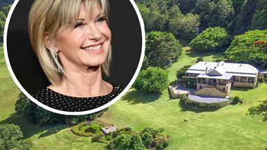 Olivia Newton-John has put her 187-acre Australian farm up for sale