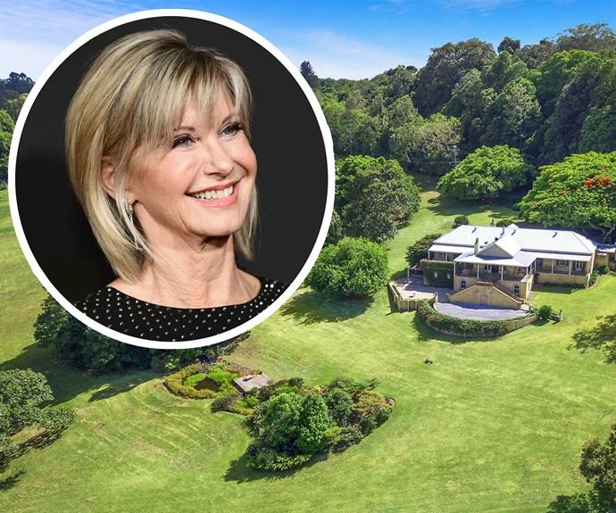 Olivia Newton-John australia farm for sale
