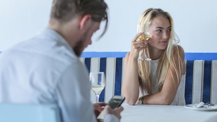 Red flags to watch out for when you're on a first date