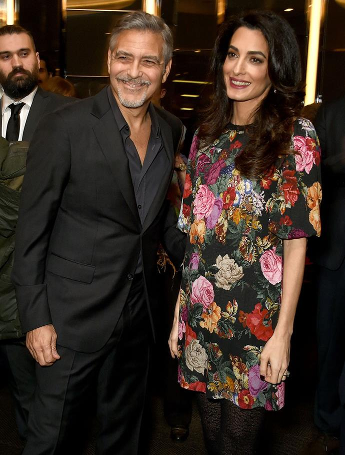 Amal and George Clooney are close friends of Meghan and Harry's. *(Image: Getty)*