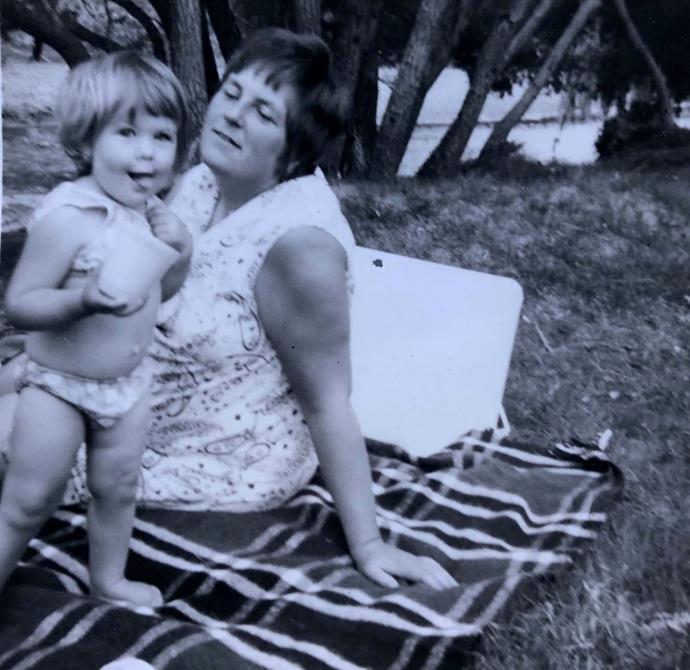 Karyn and her mum, Diane.