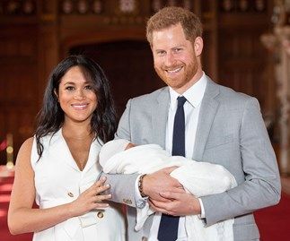 Meghan Markle Archie Prince Harry first photo call