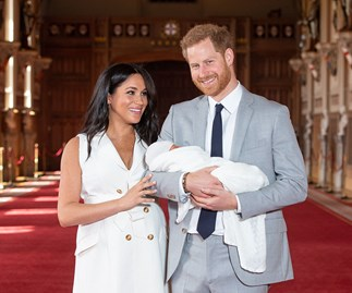 meghan markle archie harrison and prince harry