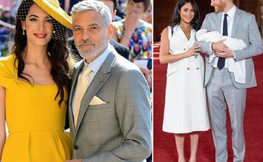 George Clooney jokes it was a 'little irritating' that Archie was born on his birthday