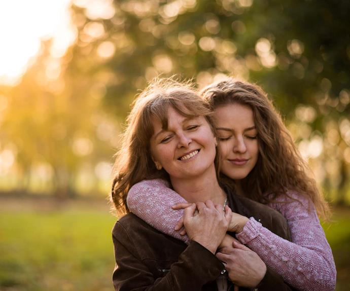 Losing your mother when you're a teenager
