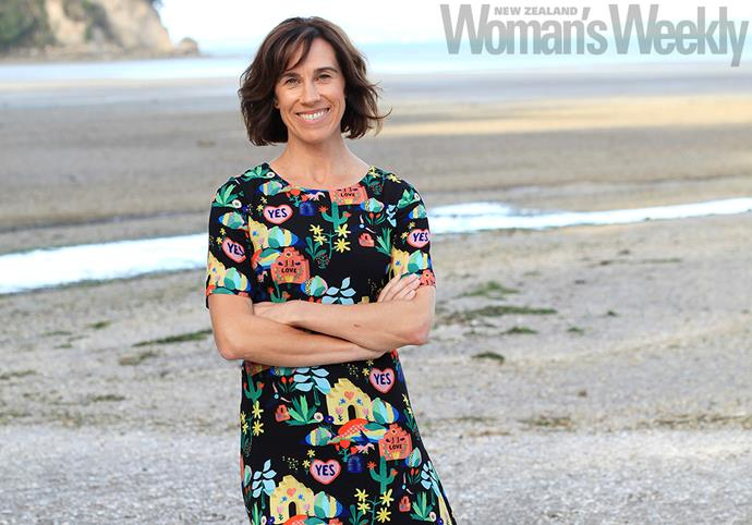 When Jackie's not filming *Educators* she loves relaxing near her West Auckland home.