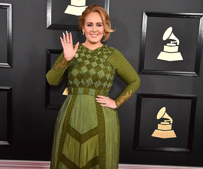 adele at grammy awards