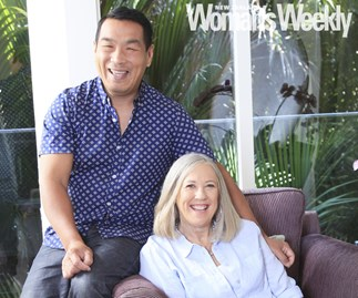 Hung Nguyen and Barb Boswell