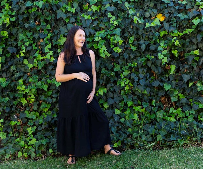 Sharlene is due with her second child in mid-to-late June. *Image: Bauer Studio*