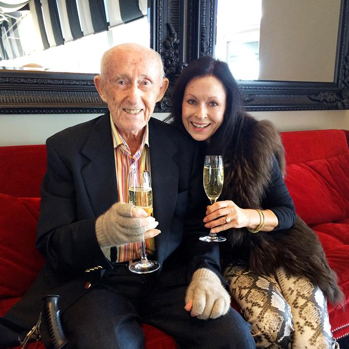 'Champagne Lady' Anne gets her bubbly personality and work ethic from her dad Bert.