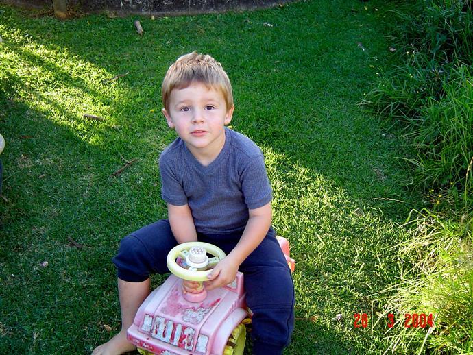 Conor, aged five.