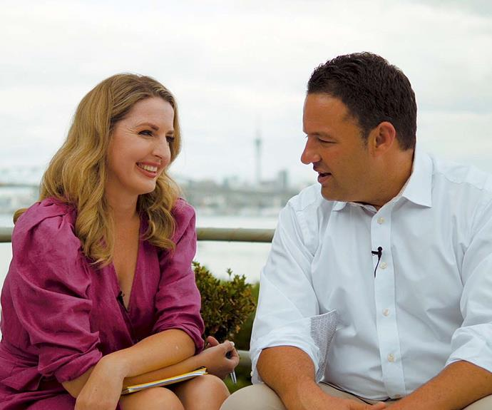 The AM Show's Amanda Gillies and Duncan Garner on their adorable work wife/husband relationship