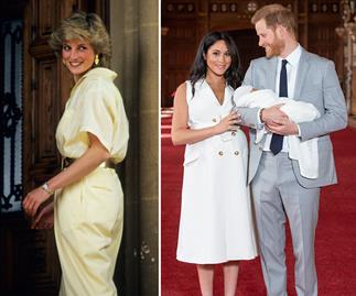princess diana meghan markle prince harry archie