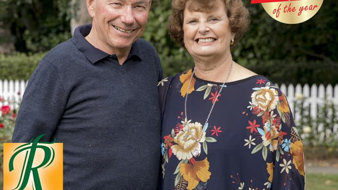 NZWW Grandparents of the year 2019 Sheryll and Steve Crawford