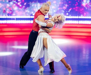 Mike McRoberts turns to his mum for support after his disappointing elimination from Dancing With The Stars