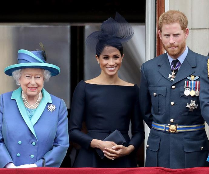 the queen meghan markle and prince harry