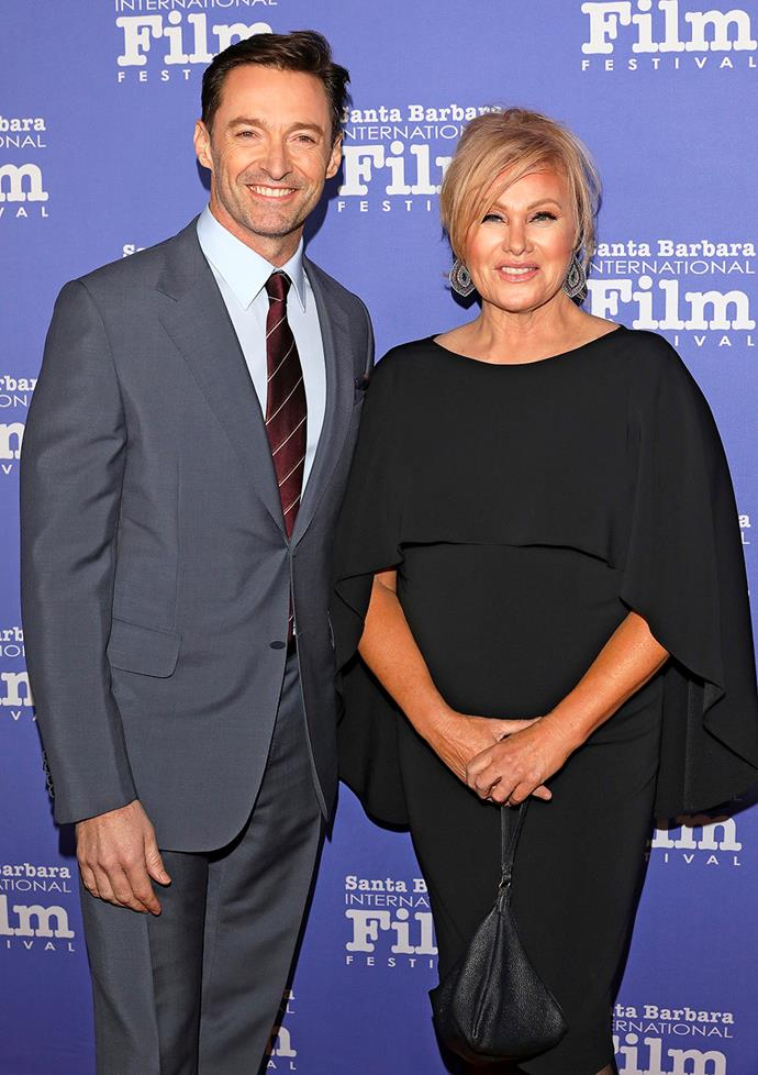 Hugh and Deb bond through their strong belief in trying to make a difference in the world.