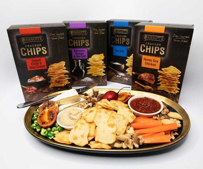 Win the new Arnott's Cracker Chips range