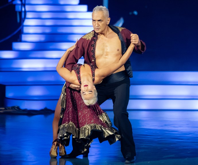 Mike McRoberts abs dancing with the stars
