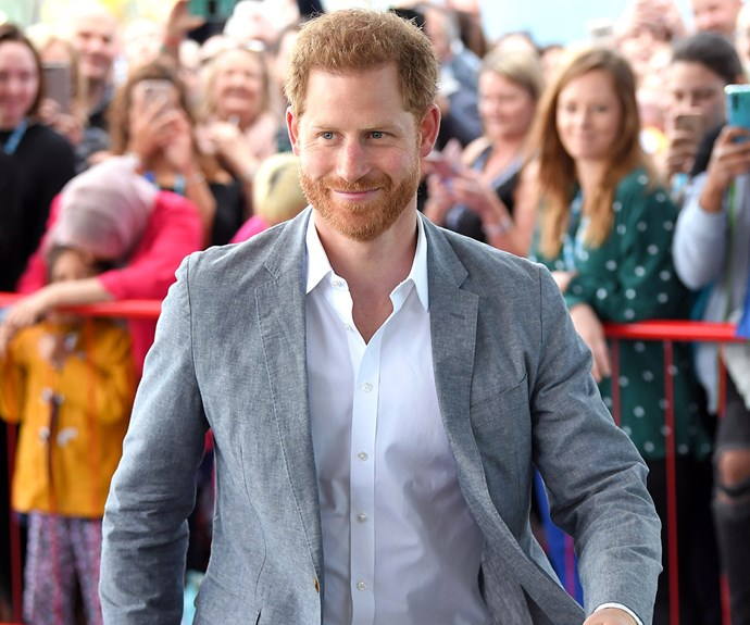 prince harry at oxford hospital