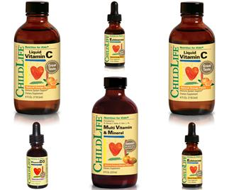 ChildLife Vitamins and Supplements