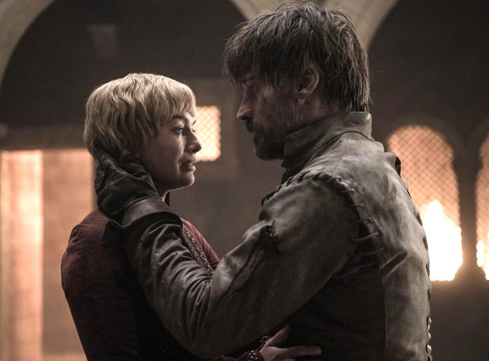 Jaime and Cersei left this world in the same way they came into it - together.