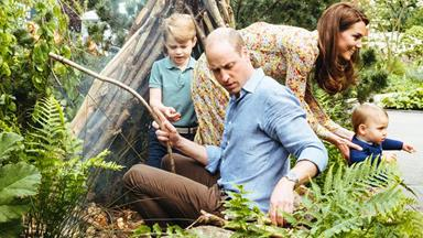 Duchess Catherine and Prince William have released photos of their family enjoying a fun day out at a very special garden