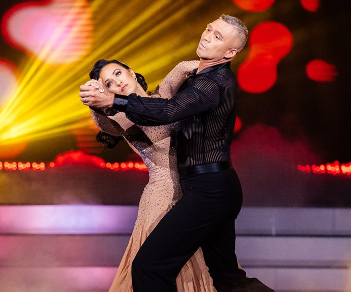 Glenn Osborne vanessa dancing with the stars