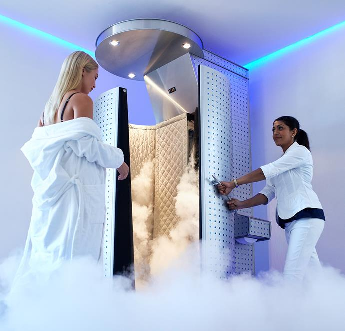 Cryotherapy's potential for reducing pain and inflammation have applications that go beyond the sports field. *(Image: Getty)*