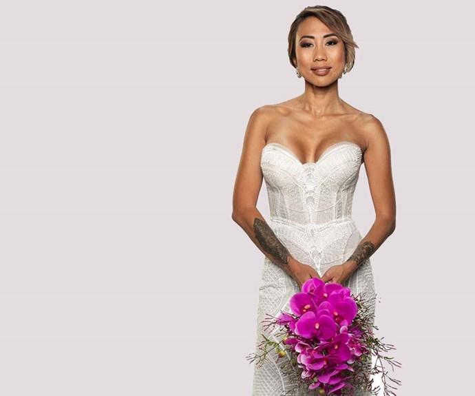 *Married At First Sight* bride Ning Surasiang