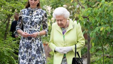 Why the Queen allowed Duchess Catherine to break protocol and kiss her in public